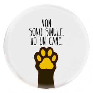 Non sono single. ho un cane.