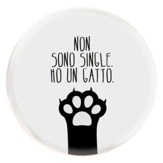 Non sono single. ho un gatto.